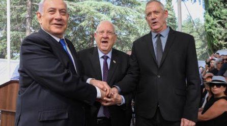 Netanyahu y Gantz asumen el nuevo Gobierno de coalición