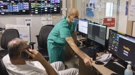 ISRAEL REDIRIGE TECNOLOGÍA DE DEFENSA EN LA LUCHA CONTRA EL CORONAVIRUS