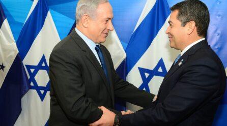 HONDURAS E ISRAEL ABRIRÁN EMBAJADAS EN JERUSALEM