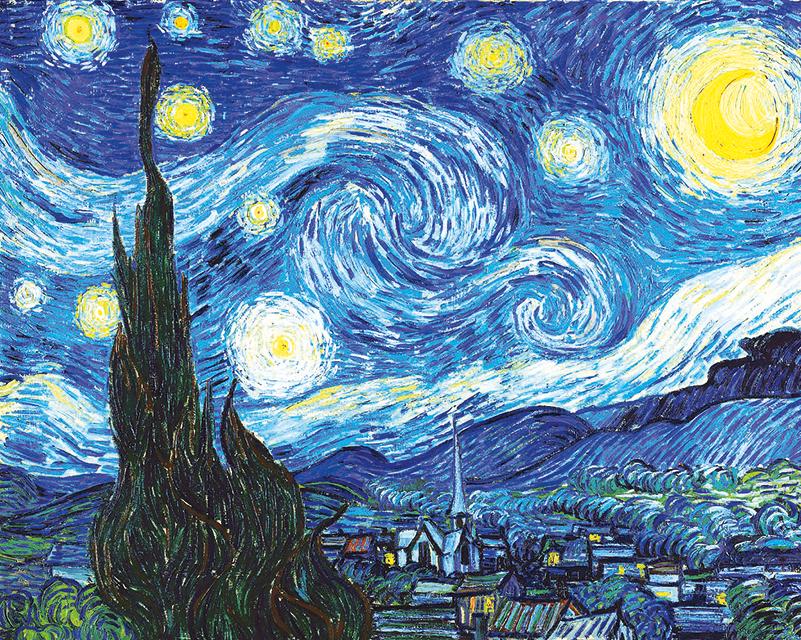 """""""Una Imagen, un recuerdo"""" La noche estrellada"""
